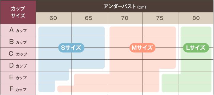 サイズ表の例2